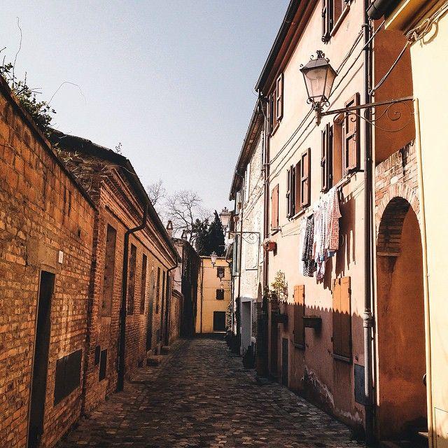 Santarcangelo. Back into the past - Instagram by francescomagnani
