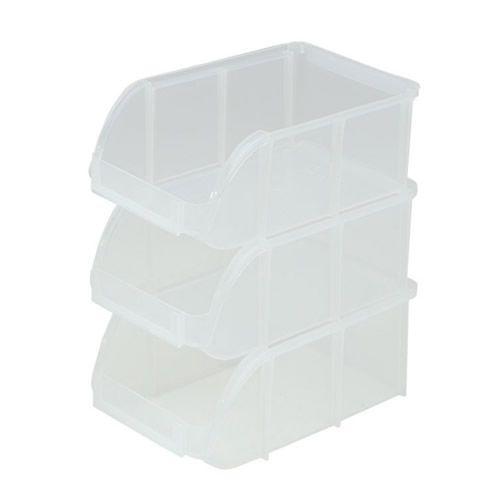 Nice IRIS Stacking Bins U S Plastic Corp
