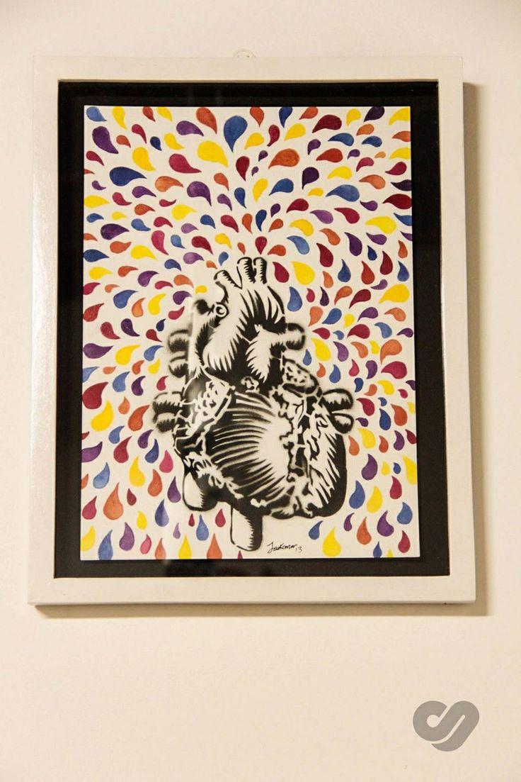 Stencil heart 3