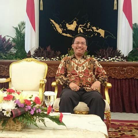 Sahat Simarmata @ Indonesia Presidential Palace, Jakarta, Indonesia.