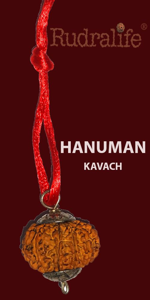 Rudralife recommends the powerful combination of Hanuman Kavach for the blessing of lord Hanuman to know more http://www.rudralife.com/rudrakshas-power-combination_HANUMAN-KAVACH.html