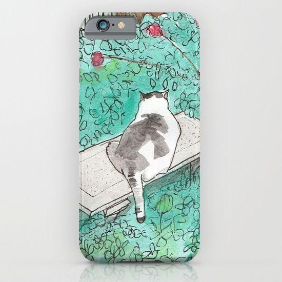 Garden Cat iPhone