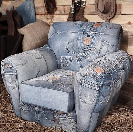 A cool use for old jeans