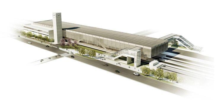 Estação de Trem Metropolitano de Suzano - Galeria de Imagens | Galeria da Arquitetura
