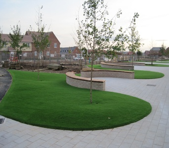 Artificial Grass Garden Designs best artificial grass marlow oklahoma lawns backyard garden ideas Artificial Lawn Installed It Can Be Laid Straight Or With Curvescircular Lawngarden Ideascurvespatio