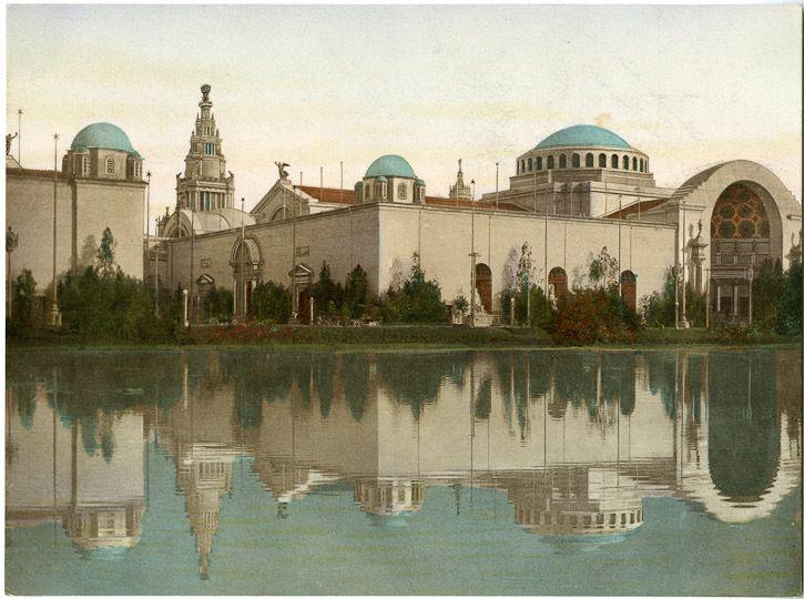 Palace of Education  Panama Pacific International Exhibition