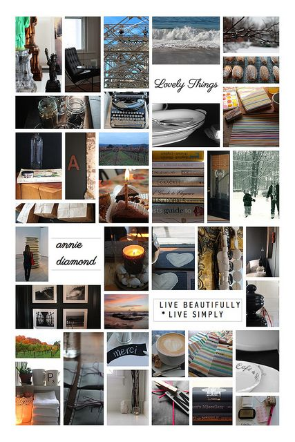 #blogboss moodboard project for decor8eclasses.com by most lovely things, via Flickr