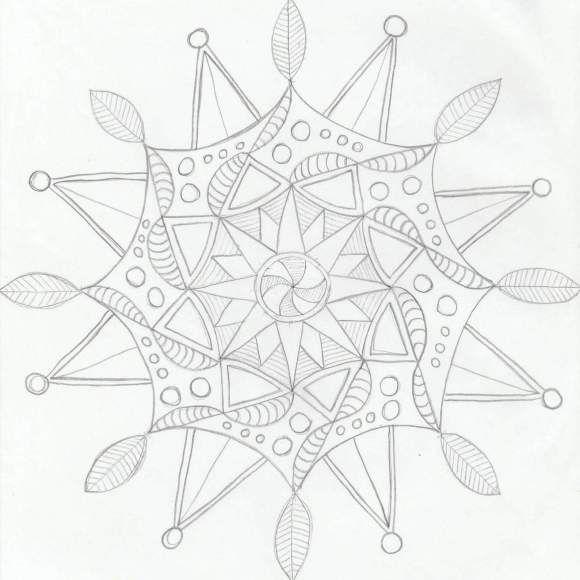 Mejores 32 imágenes de mandalas en Pinterest   Libros para colorear ...