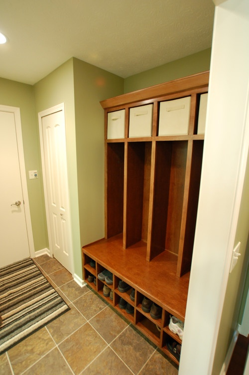 Add Shoes Storage To The Bottom Of Our Shelves