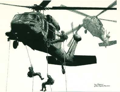 black hawk helicopter drawings | Specially-equipped UH-60L Blackhawk helicopters should also receive ...