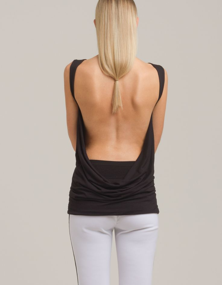 Backless top by eMManuela for Maison Academia http://shop.maisonacademia.com/collections/spring-summer-2013/products/418-top