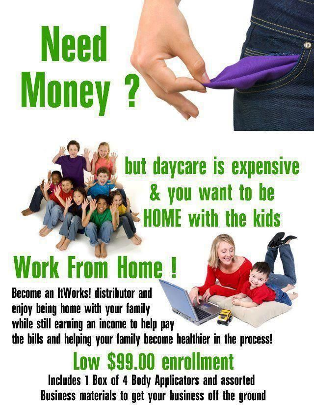 mums work from home business opportunity daycare too expensive you wont need - Independent Distributor Jobs