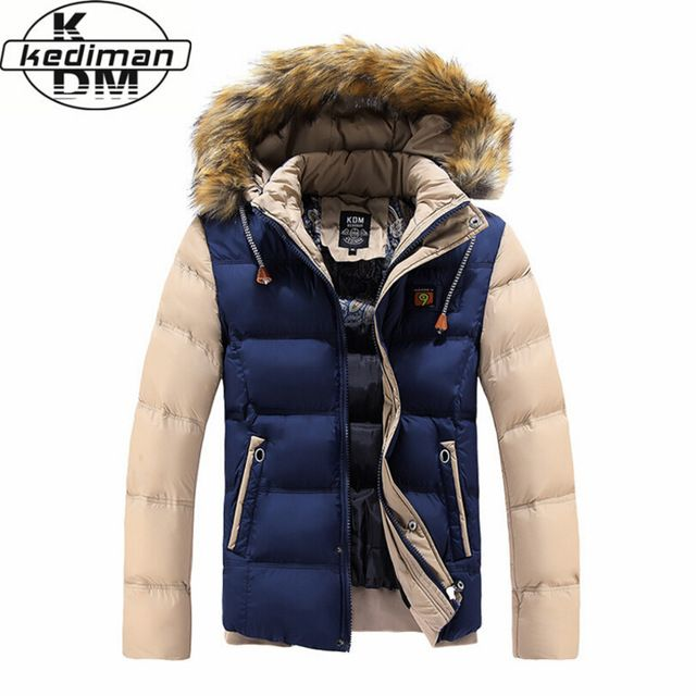 Check it on our site New listing 2016 Winter Brand Men Down Parkas Jackets Fashion Man Hooded Thick Warm Outdoors Outwear Overcoat Wadded Coat just only $29.59 with free shipping worldwide  #jacketscoatsformen Plese click on picture to see our special price for you