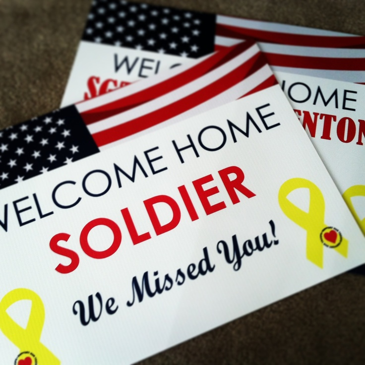 10 best Welcome Home Banners images on Pinterest | Welcome home ...