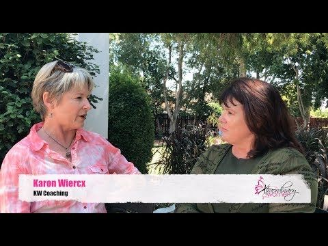 """Xtraordinary Women Durbanville Chapter interviews Karon Wiercx from KW Coaching, about her talk """"Walking Towards Your Business Vision Using Tools Learned on The Camino""""."""