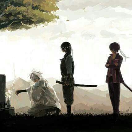 Gintama, Joy4, Gintoki, Takasugi Shinsuke, Katsura Kotarou