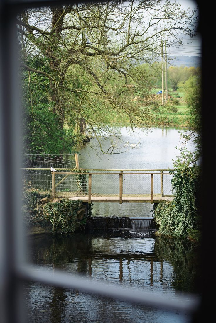 Views from the mill house here at Cotes Mill