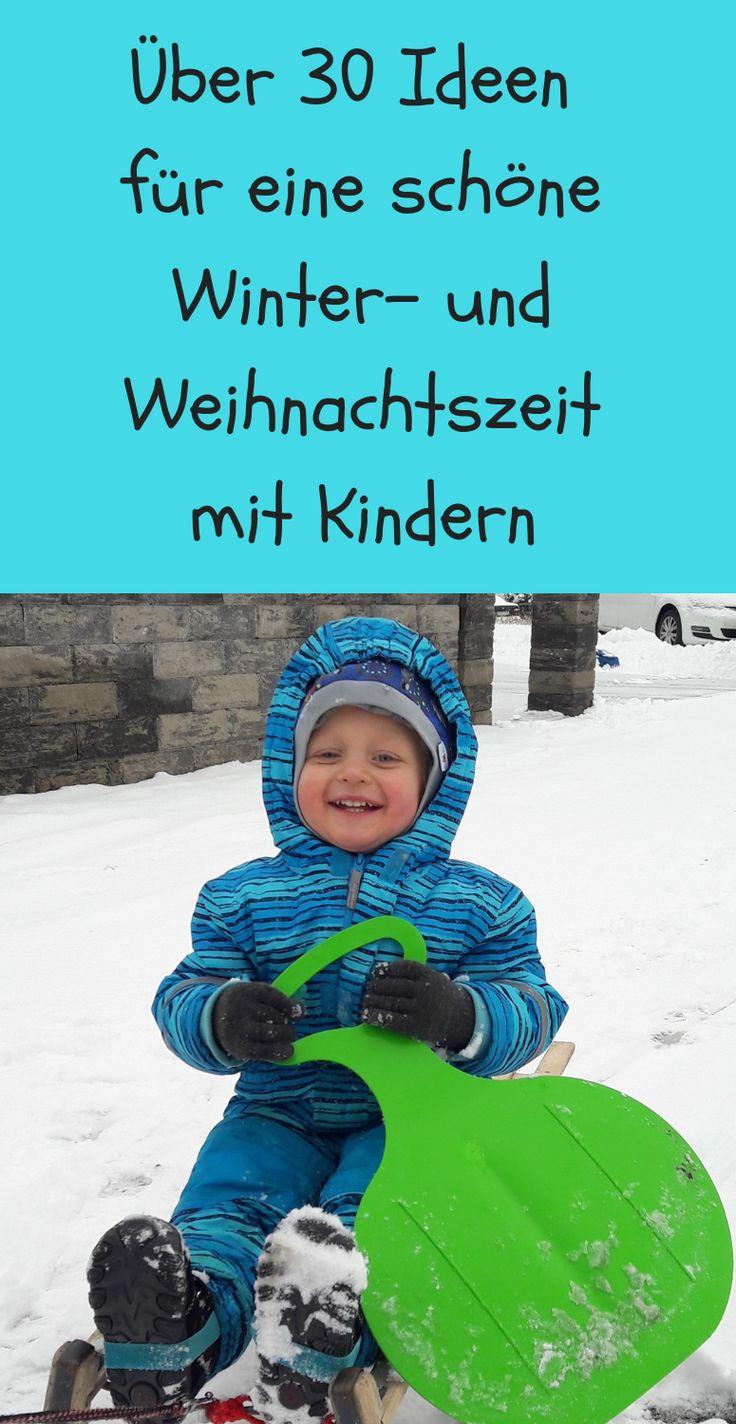 Die Winter. und Weihnachtszeit sollte für Kinder etwas richtig magisches sein u… – Familie und mehr – Ein kreativer Mamablog