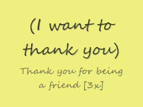 """Andrew Gold - """"Thank You For Being A Friend"""" [Official Music Video] - YouTube"""