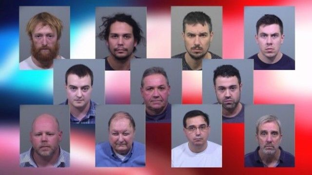 PORTLAND, Maine (NEWS CENTER) — Eleven men were arrested recently by law enforcement near Portland for engaging a prostitute.