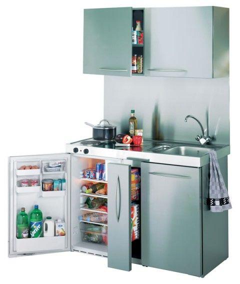 Cocinas pequeñas para espacios reducidos 07
