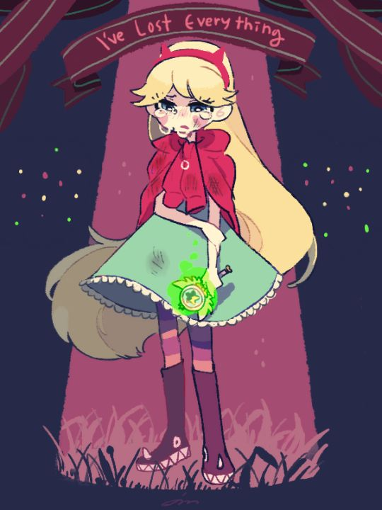 Poor star :(  She lost her spell book And her Mexican lover