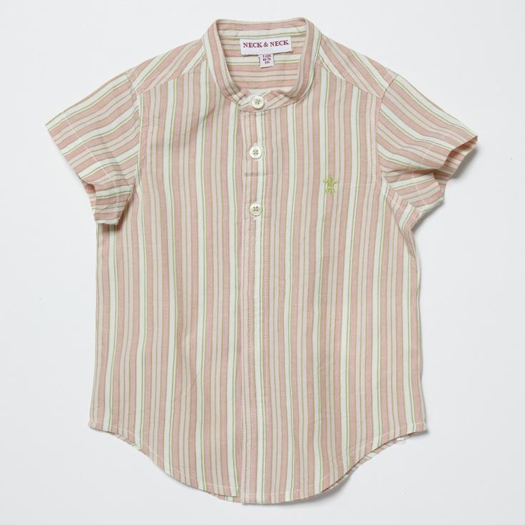 Boy Shirt. NECK & NECK