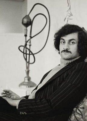 Salman Rushdie photographed by Fay Godwin