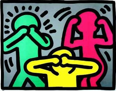 1000 images about keith haring on pinterest artworks - Keith haring shower curtain ...