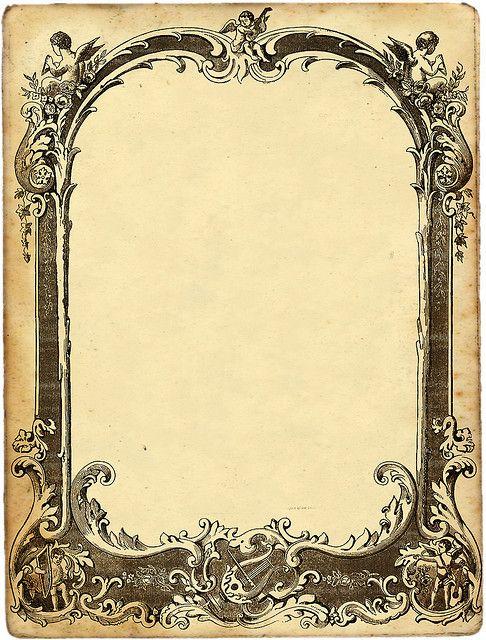 .vintage frame