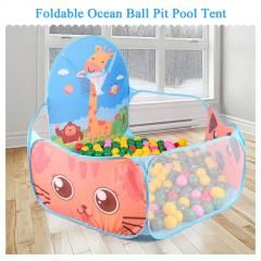 [ 33% OFF ] New Foldable Ocean Ball Pit Pool Portable Toy For Kids Tent House Play Set Toy  And Funny Toys