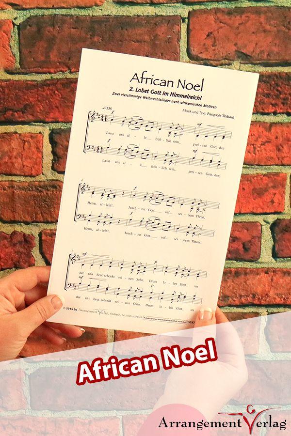 African Noel (dreistimmige Neubearbeitung) für Männerchor ✓ Zwei ...