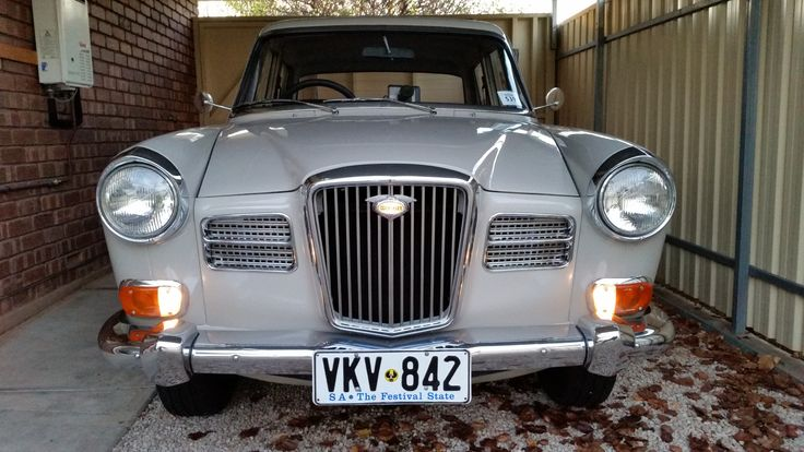 As long as the light in the grill works, it's a genuine Wolseley !!
