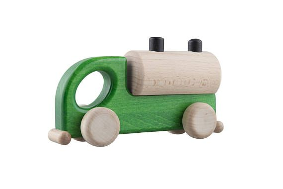 Wooden Car Tank Wooden Toy SAFE Wood Eco Toy Natural Toy