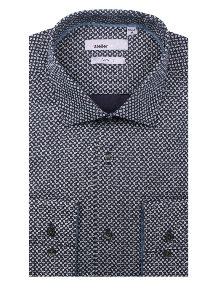 Chemise cintrée HUBERT | http://www.atelierprive.com/fr/nouveautes-mode-homme/3921-chemise-cintree-hubert.html