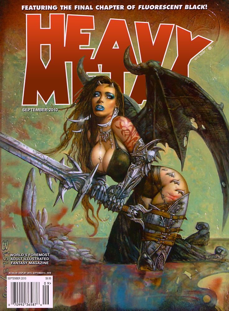 200 Best Heavy Metal Magazine Covers Images In 2020 Metal Magazine Heavy Metal Heavy Metal Comic