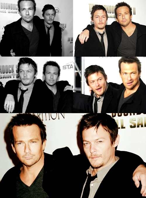 Sean Patrick Flanery & Norman Reedus, The Boondocks Saints