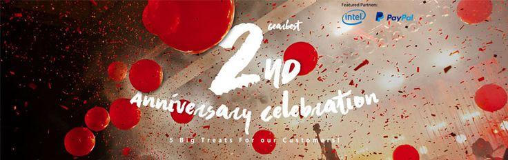 Gearbest implineste in data de 21 Martie 2016 2 ani de la lansare si ofera reduceri calumea la o multitudine de produse. Pentru cei care nu stiu Gearbest ...