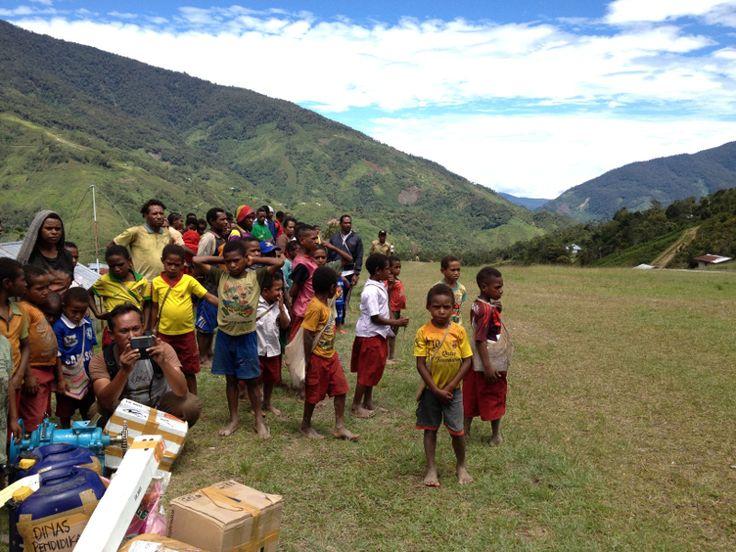 Bandara Kiwirok, Desa pelebip, pegunungan Bintang papua