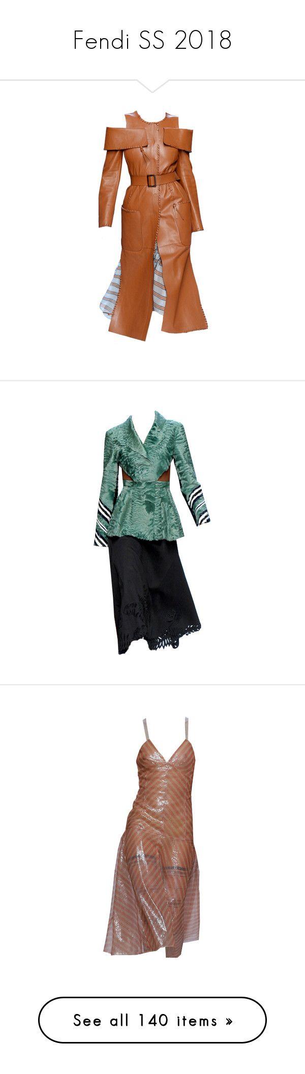 """Fendi SS 2018"" by sella103 ❤ liked on Polyvore featuring skirts, green, mid-calf skirt, fendi, midi flare skirt, knee length flared skirts, flared skirt, black, mid length skirts and flared skirts"