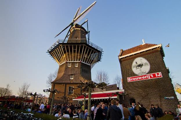 The 10 Best Bars in Amsterdam in 2016 | Guidora. #4 is Brouwerij't IJ, a small brewery in Amsterdam net to the De Gooyer windmill. Click to get the rest of the list