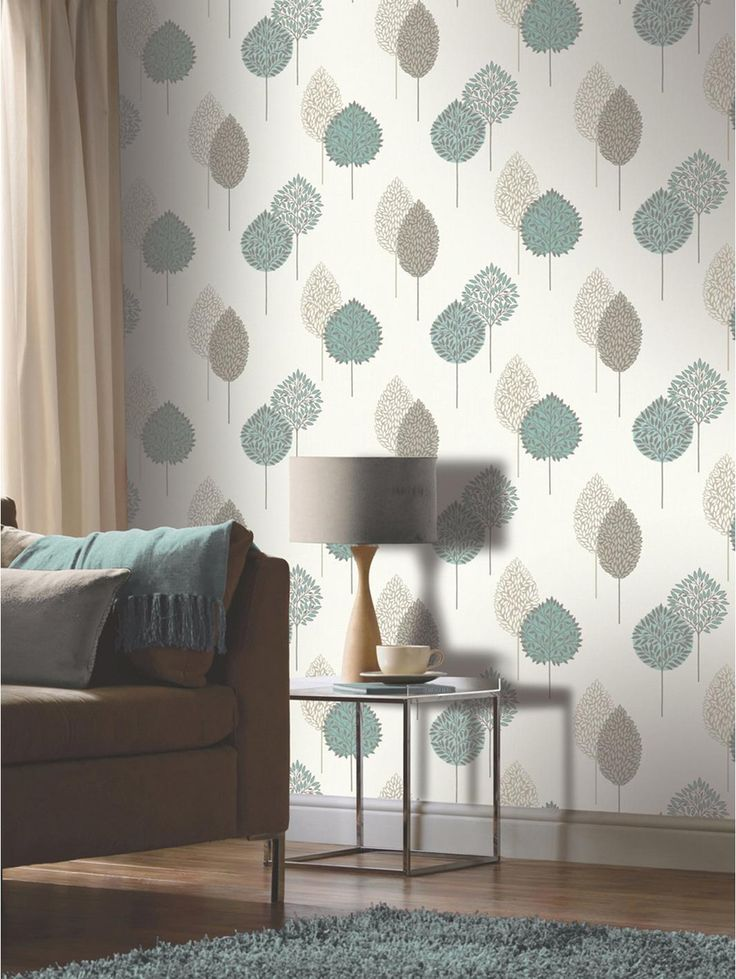 Dante Motif Teal Wallpaper WallpaperWallpaper DesignsWallpaper IdeasLiving Room