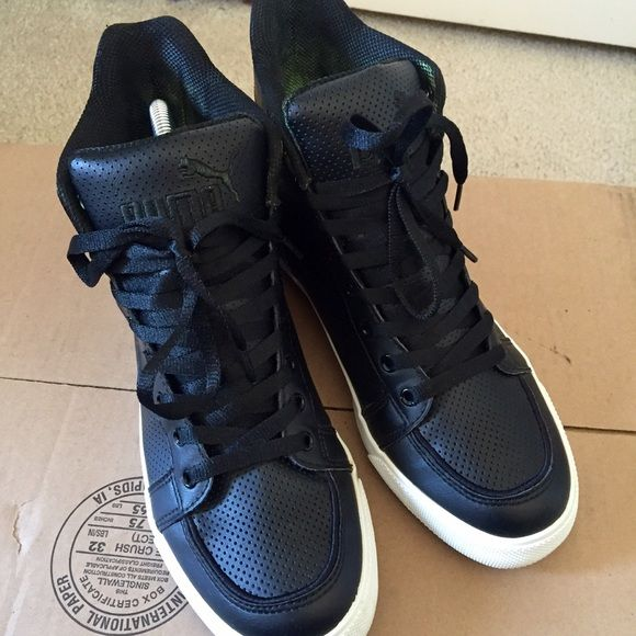 Puma High Top Sneakers  Pumas Shoes, Puma High Tops, High -5283
