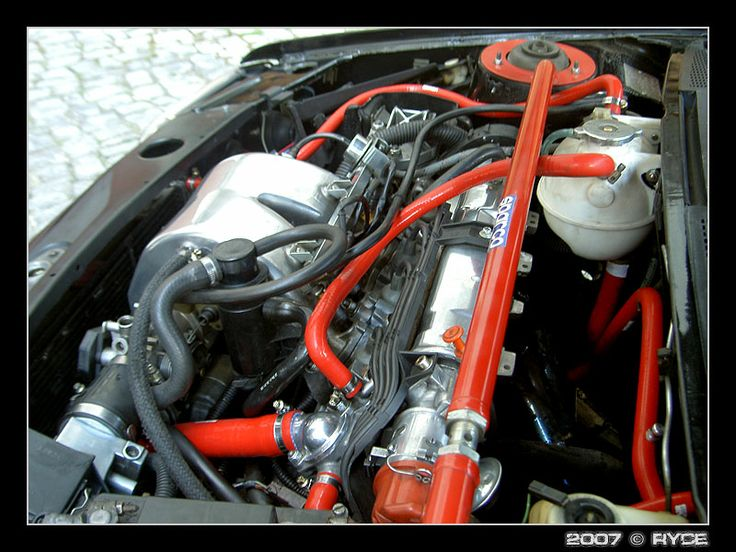 """Another #venairsport red silicone hoses on Peugeot 205 GTI """"Dark Demon"""" - Ryce - Pág. 3"""