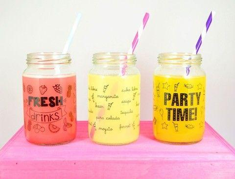 botellas de vidrio decoradas - Buscar con Google
