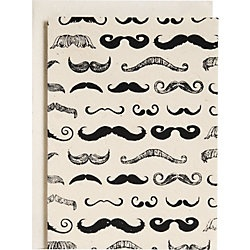 mustache stationery OMG WANT