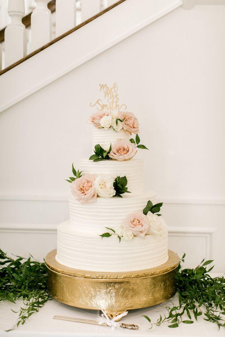 | böhmische hochzeitstorte | erröten rosa Hochzeitstorte | weiße, runde, vierlagige …   – Official wedding board