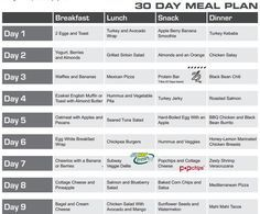 30 day meal plan eating plan…click first link below for