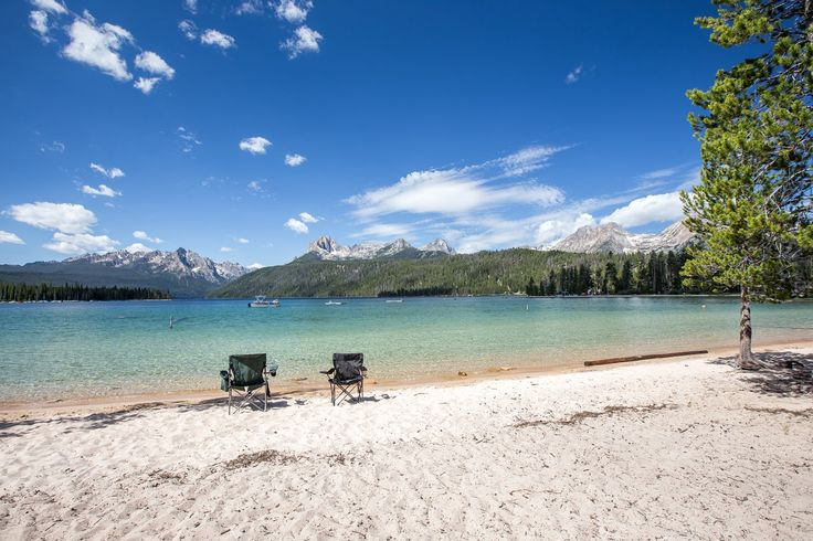 Warm sandy beaches await at Redfish Lake. - 11 Idyllic Idaho Swimming Holes