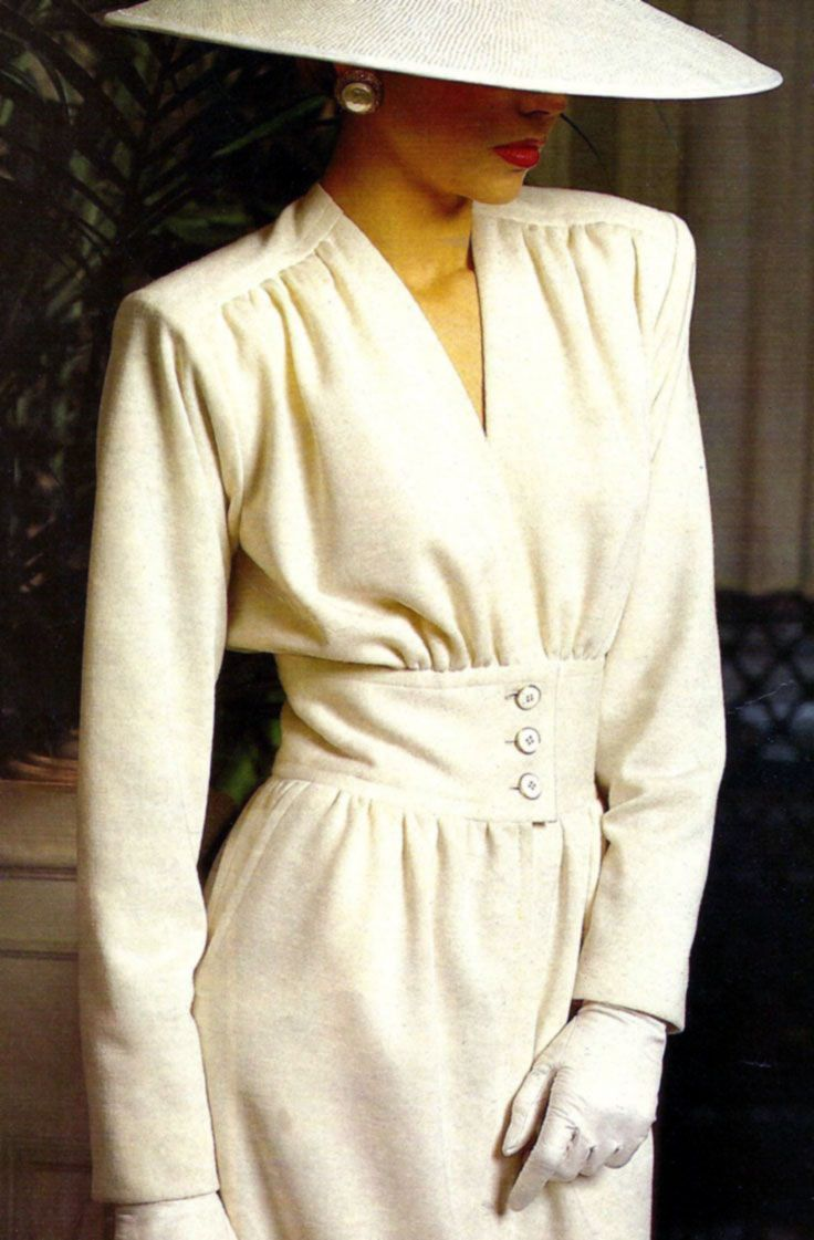 ♔ Yves Saint Laurent 1984